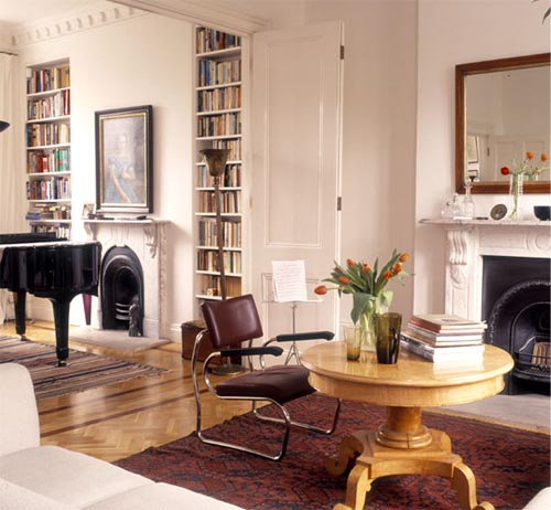 living room together with music room the luxurious version