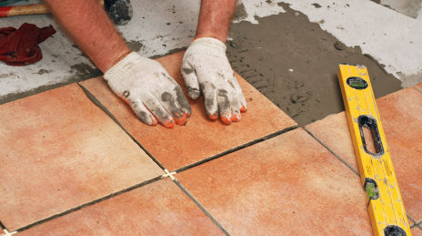 How To Install Ceramic Floor Tiles Home Decorating Tips