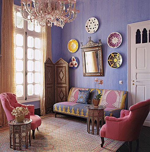 Affordable Interior Design by Applying Bohemian Style | Home ...