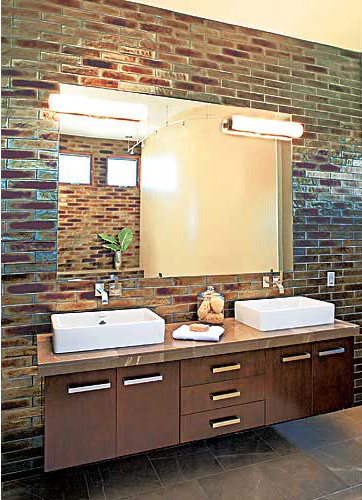 Tile Color Combination for Bathroom Wall Ideas | Home Decorating Tips