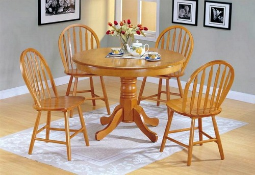 Round Small Dining Table