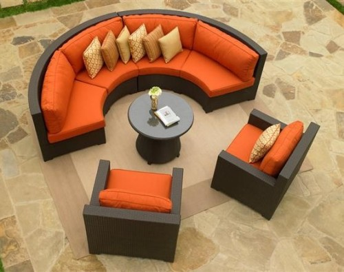 Round Types Of Living Room Shape