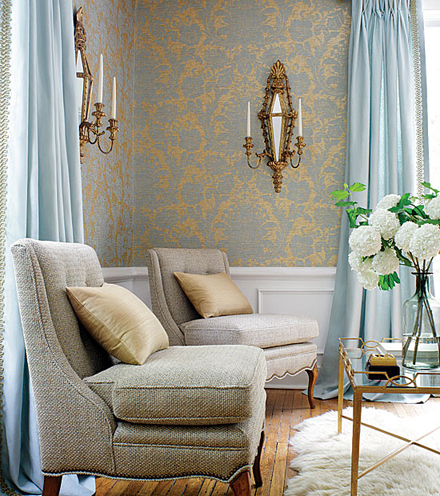 brown wall and curtain color combination home decorating tip