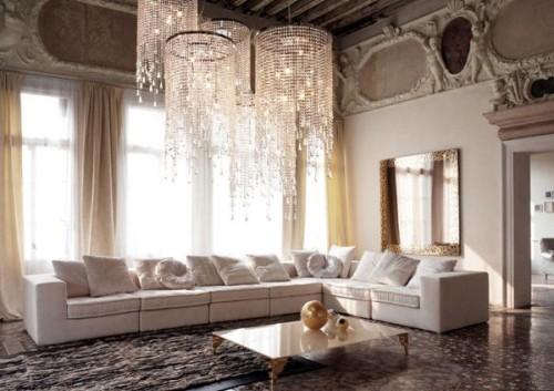 luxury furniture in living room