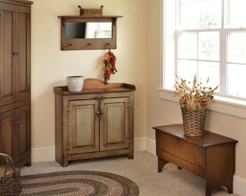 Primitive interior design home decorating tips for Primitive interior designs