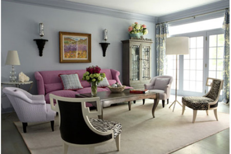 Tranquil Color In Living Room