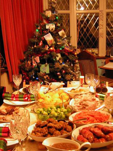 Christmas party decoration for engaging atmosphere home