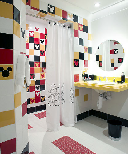 Colorful Bathroom Design