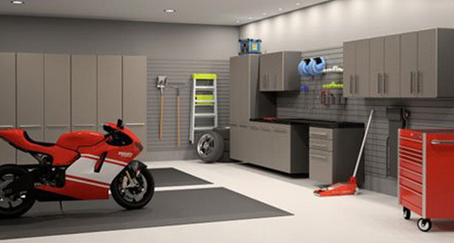 Perfect Modern Car Garage Design