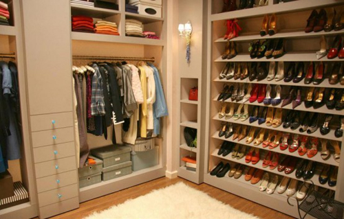 Chic Shoes Cabinet Design