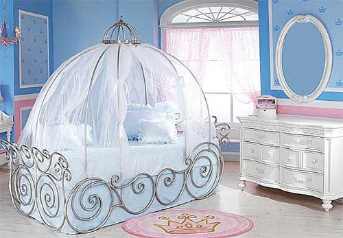 Wonderful Cinderella Disney Princes Themed Bedroom