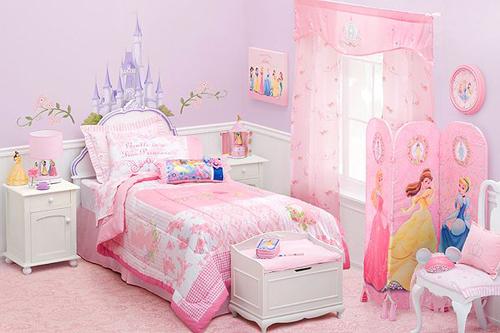 Disney Princess Themed Bedroom Home Decorating Tips