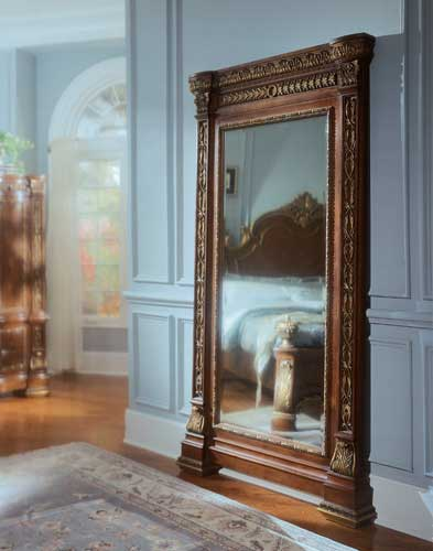 Floor Mirror Decoration | Home Decorating Tips