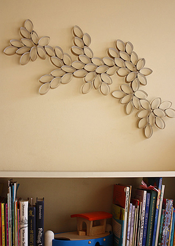 Colorful Paper Mache Wall Art Gift - Wall Painting Ideas ...