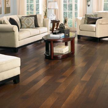 Simple American Walnut flooring