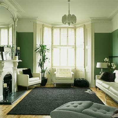Sage Colored Bedroom