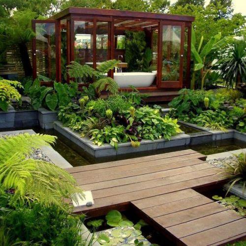 Garden Style Bathroom ideas | Home Decorating Tips