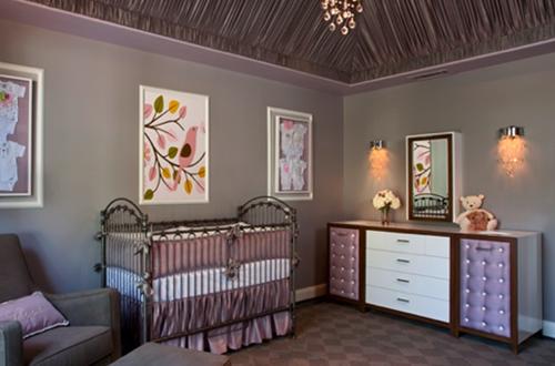 Lavender Baby Nursery