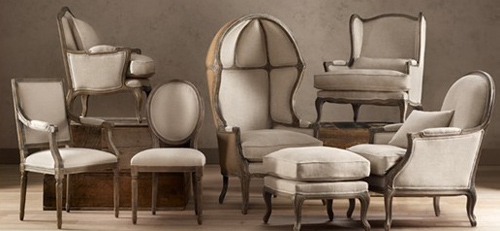 Vintage French Chair Styles