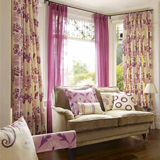 Window Treatment in Bright Look