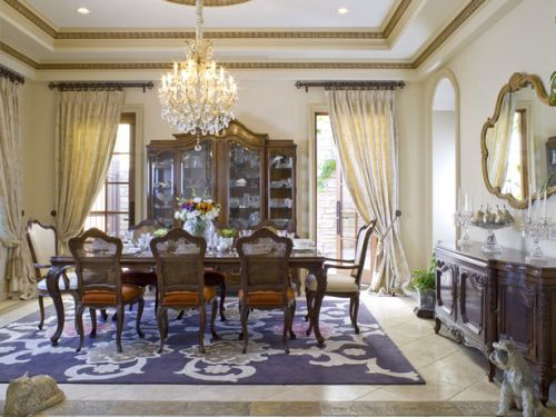 Small Dining Room in Luxury