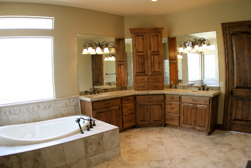Master Bed and Bath design