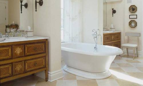 Master Bed and Bath in White