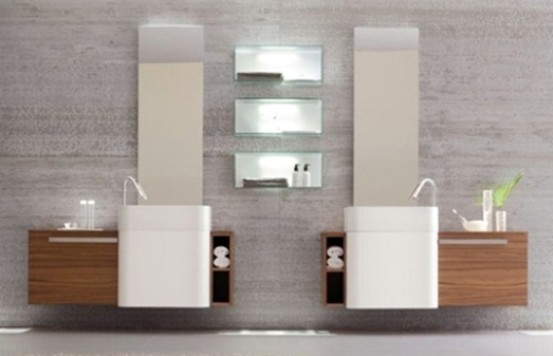 Bathroom Paneling Ideas in Double Look