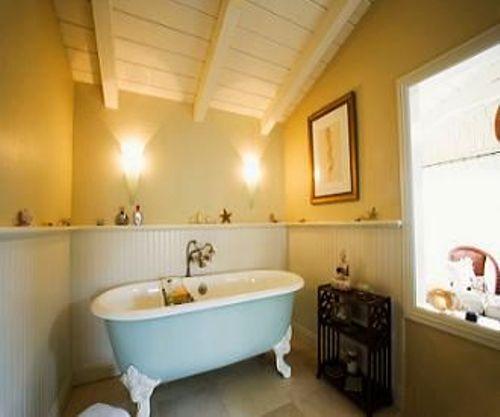 Bathroom Paneling Ideas in Yellow
