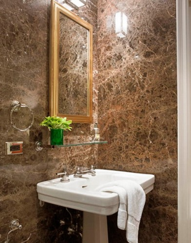 Unique Bathroom Vanity Ideas in Brown