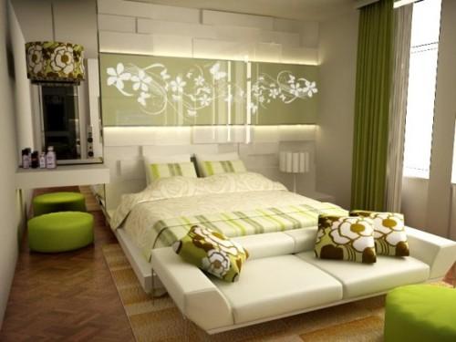 unisex bedroom ideas for kids in green