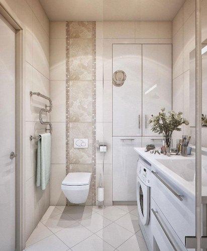 Design a 5 x 8 bathroom in White