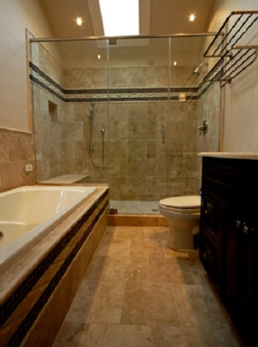 Design A 5 X 8 Bathroom With Marble