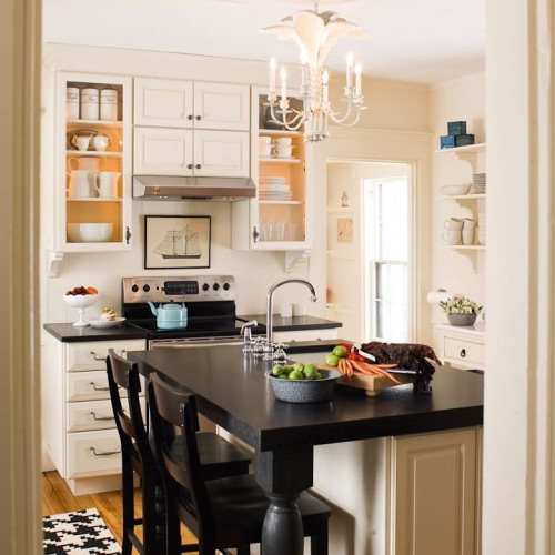 Designs of Kitchen Cabinets for Small Kitchens