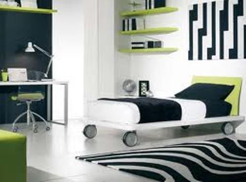 Zebra design bedroom ideas