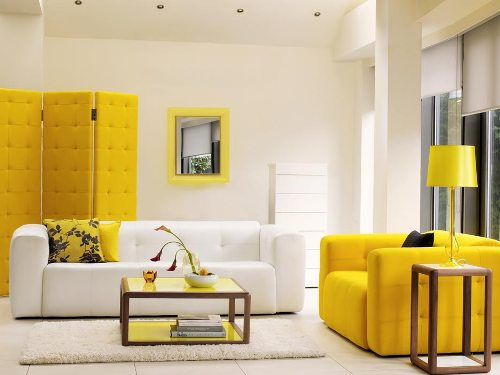 Decorating Ideas for Yellow Living Room