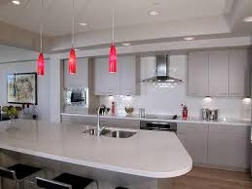 lighting over small kitchen island