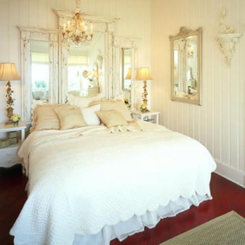 white french victorian bedroom