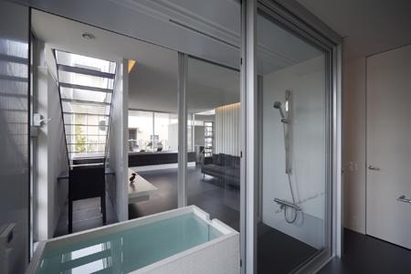 creating transparent door bathroom another transparent bathroom