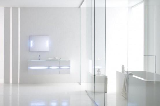 creating transparent door bathroom the transparent and minimalist bathroom