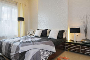 Spiral Wallpaper to Create Romantic and Luxury Effect