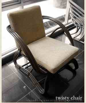 Relax with 'Twisty Chair'