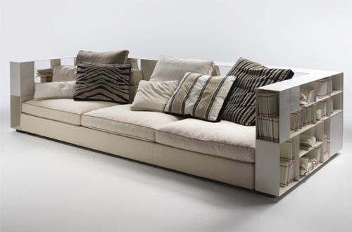 book case sofa