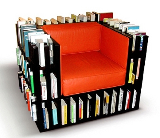 Beautiful Sofa with Book Shelves