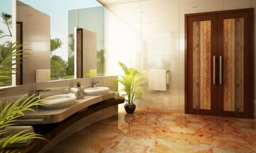 Natural Bathrom Design