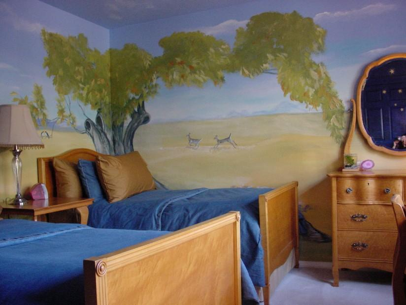 Bedroom Painting Idea