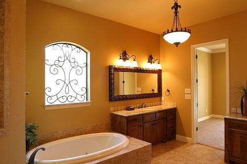 1920s Bathroom Lighting Design