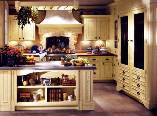 Country French Kitchen Design