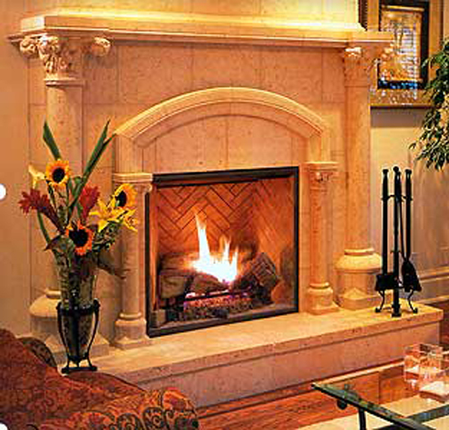 Traditional Type of Fireplace