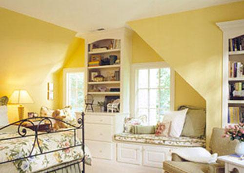 bedroom attic